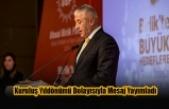 Taçoy UBP'nin Kuruluş Yıldönümü Dolayısıyla Mesaj Yayımladı