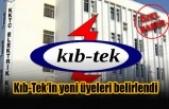 Kıb-Tek'in yeni üyeleri belirlendi