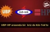 UBP-HP arasında bir  kriz de Kıb-Tek'te