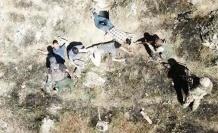 İşte teröristlerin teslim olma anı…