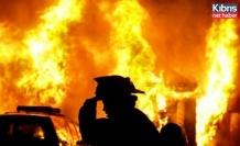 Gaziveren'de ev yangını