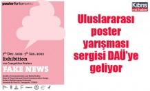 Uluslararası poster yarışması sergisi DAÜ'ye geliyor