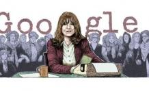 Google'dan 73. doğum günü için Duygu Asena doodle'ı