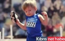 Bebekler olimpiyatta yarıştı ortaya bu komik görüntüler çıktı