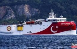 Oruç Reis Gemisi Akdeniz'de aramalara başlıyor