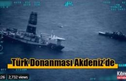 Sondaj gemilerine havadan, su üstü ve altından...