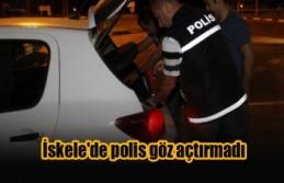 İskele'de polis göz açtırmadı