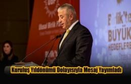 Taçoy UBP'nin Kuruluş Yıldönümü Dolayısıyla...