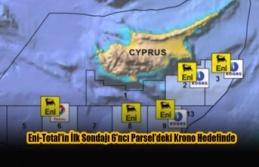 Eni-Total'in İlk Sondajı 6'ncı Parsel'deki...