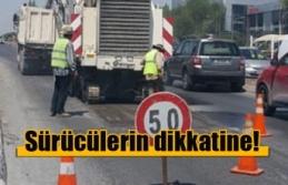 Lefkoşa'da Bir Sokak 3 Gün Trafiğe Kapatılacak