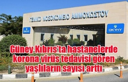 Güney Kıbrıs'ta hastanelerde korona virüs tedavisi gören yaşlıların sayısı arttı