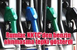 Rumlar, KKTC'den benzin alınmasına tepki gösterdi