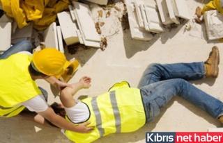10 metreden beton zemine düştü