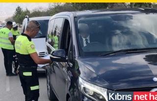 11 sürücü trafikten men edildi