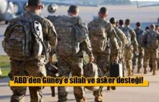 ABD'den Güney Kıbrıs'a silah ve asker desteği!