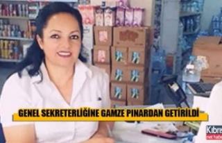 ÇAĞ-SEN Genel Sekreterliğine Gamze Pınardan Getirildi