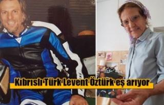İspanya'da yaşayan Kıbrıslı Türk Levent Öztürk...