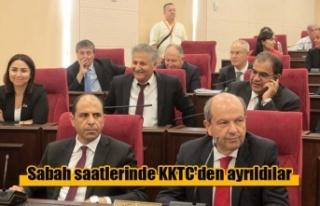 Tatar ve Özersay İstanbul yolunda