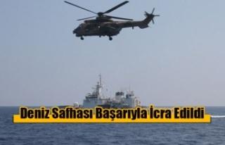 Tatbikatı'nın Deniz Safhası Başarıyla İcra...