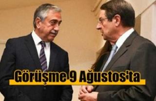 Akıncı ile Anastasiadis 9 Ağustos'ta bir araya...