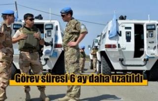 Barış Gücü'nün görev süresi 6 ay daha uzatıldı