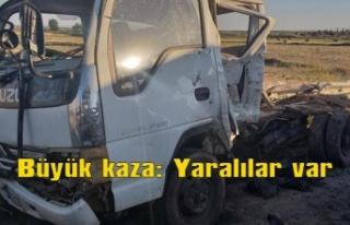 Büyük kaza: Yaralılar var