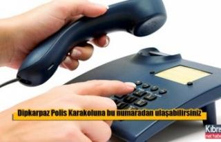 Dipkarpaz Polis Karakolu Telefon Hattı Arızalı