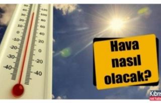 Hava sıcaklıkları 3-4 derece düşecek