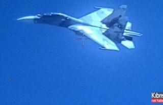 Havada gerilim: Savaş uçakları karşı karşıya...