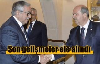 Kıbrıs konusunda yaşanan son gelişmeler ele alındı