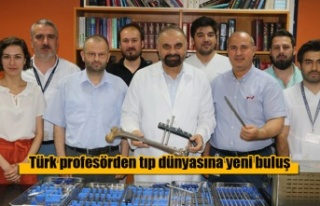 Türk profesörden tıp dünyasına yeni buluş