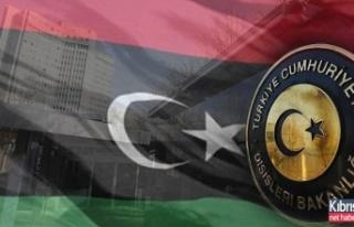 Türkiye Dışişleri'nden Libya'daki Türklere...