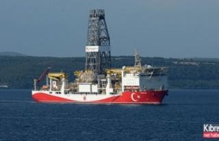 'Yavuz' gemisi Mersin açıklarına ulaştı