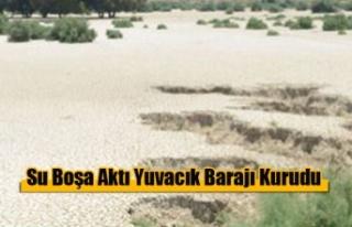 Yuvacık Barajı Kurudu