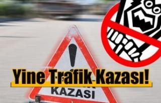 Çayırova'da kaza, 4 kişi yaralandı