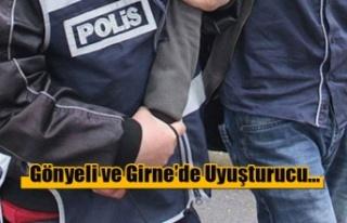 Gönyeli ve Girne'de Uyuşturucu…