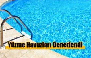 Lefkoşa'da Yüzme Havuzları Denetlendi