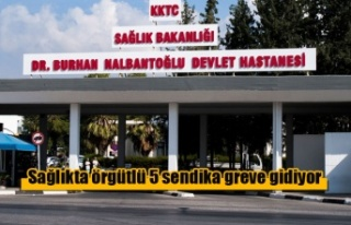 Sağlıkta örgütlü 5 sendika greve gidiyor