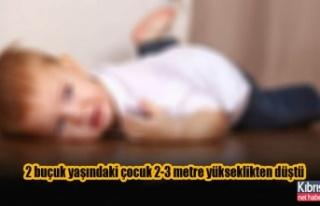 2 buçuk yaşındaki çocuk yoğun bakıma alındı…