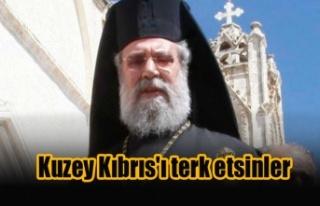 Başpiskopos'tan dünyaya çağrı: Kuzey Kıbrıs'ı...