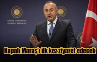 Çavuşoğlu, Kapalı Maraş'ı ilk kez ziyaret...