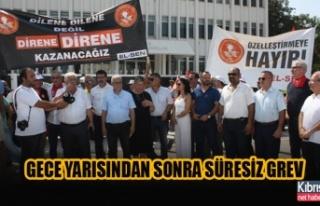 EL-SEN'in uyarı grevi devam ediyor…