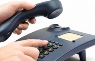 İskele Polis Müdürlüğü'ne ait telefon hatlarındaki...