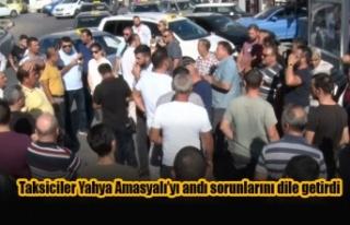 Mağusalı taksiciler Yahya Amasyalı'yı andı...