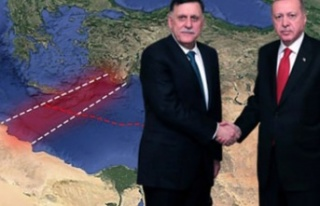 Erdoğan-Al Sarraj imzayı attı Mısır ve Yunanistan...