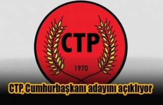 CTP, Cumhurbaşkanı adayını 17 Aralık'ta açıklıyor