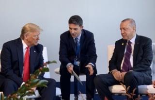 Erdoğan, Trump'la bir araya geldi