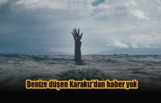 Girne'de denize düşen Halil Karakız'dan...