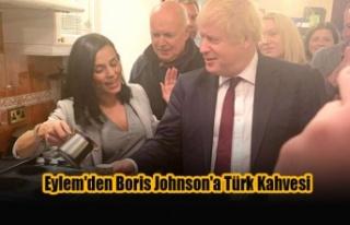 Kıbrıslı Türk Sanatçı Eylem'den Boris Johnson'a...