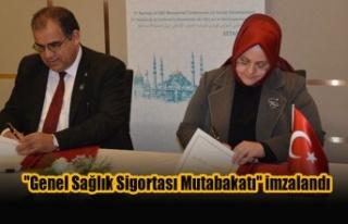 """KKTC ve Türkiye arasında """"Genel Sağlık Sigortası..."""